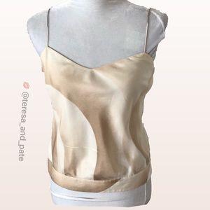 THEORY Silk Camisole SZ Small